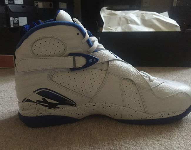 Air Jordan 8 OVO White Kentucky Blue