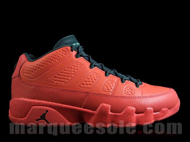 Air Jordan 9 Low Infrared Black