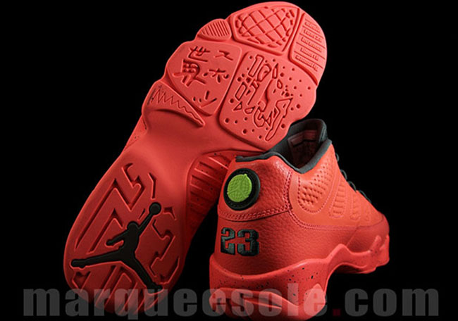 Air Jordan 9 Low Infrared Black