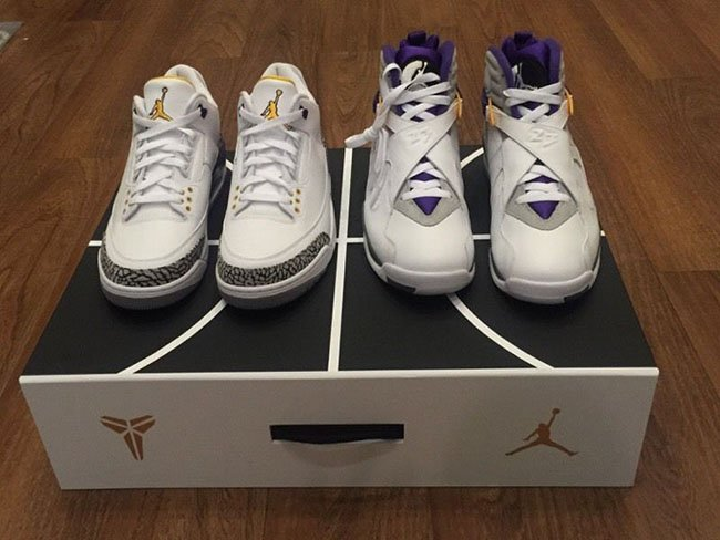 watch bbd32 86d11 Air Jordan Kobe Pack White Buy