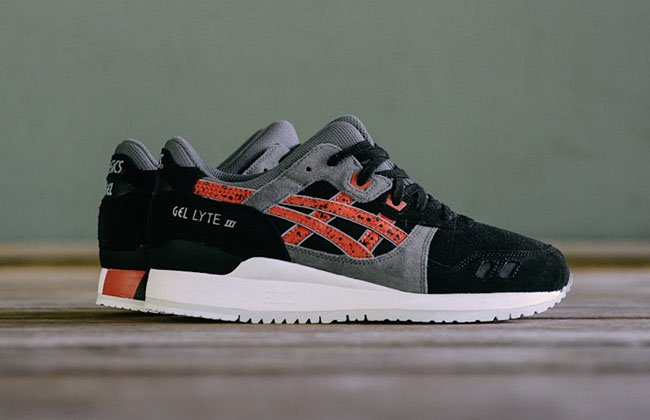 Asics Gel Lyte III Black Chili