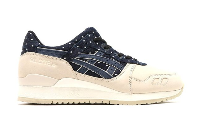 Asics Gel Lyte III Indian Ink Polka Dots