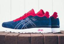 Asics GT II Red White Blue