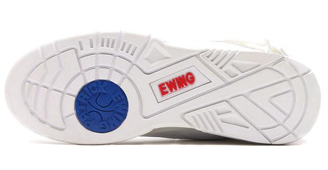 atmos Ewing 33 Hi White Red Blue
