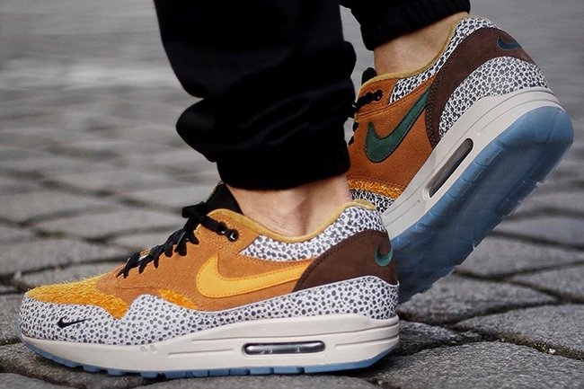 atmos nike air max 1 safari retro 2018