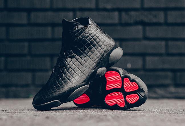 Black Croc Jordan Horizon Premium