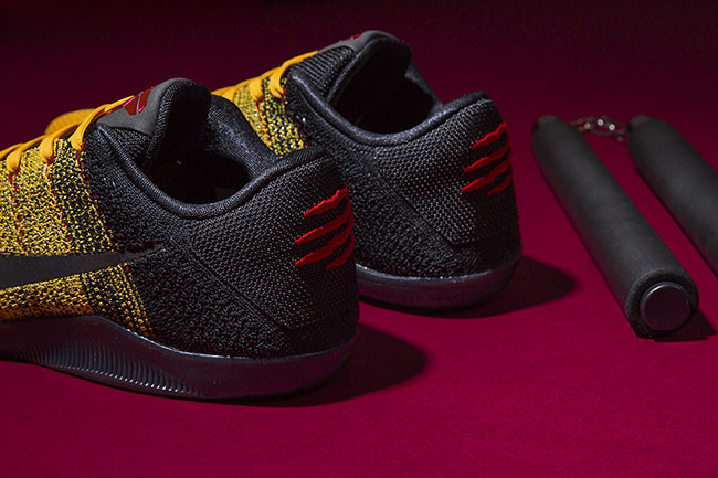 Bruce Lee Nike Kobe 11 Warrior Spirit
