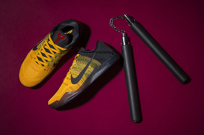 60370de558cc Bruce Lee Nike Kobe 11 Warrior Spirit