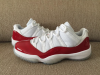 Cherry Air Jordan 11 Low White Varsity Red