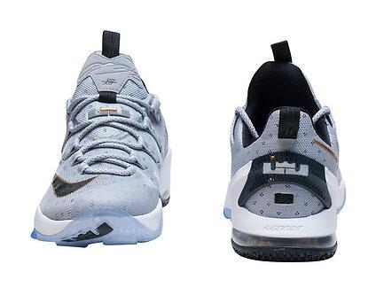 1c5299d984c Nike LeBron 13 Low Cool Grey