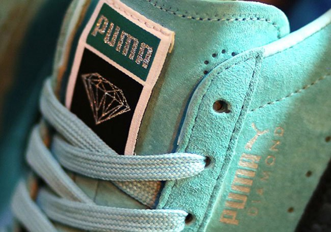 puma suede diamond supply co