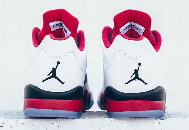 Fire Red Air Jordan 5 Low Release