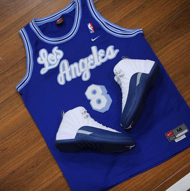 French Blue Air Jordan 12 Kobe