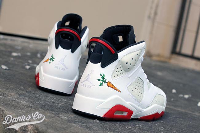 Hare Air Jordan 6 Custom