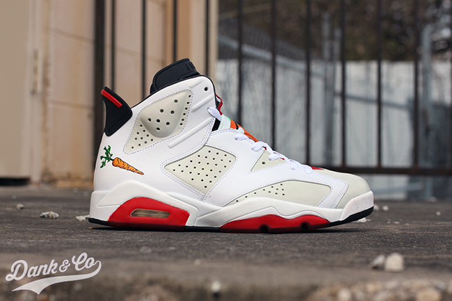 Hare Air Jordan 6 Custom