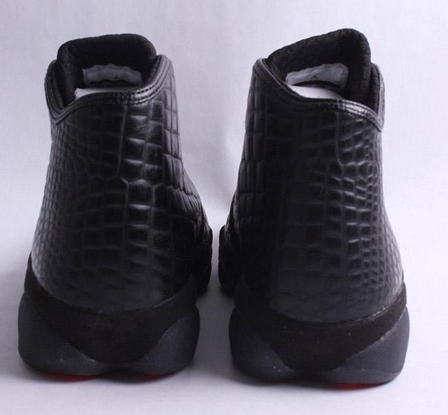 Jordan Horizon Premium Black Croc Red