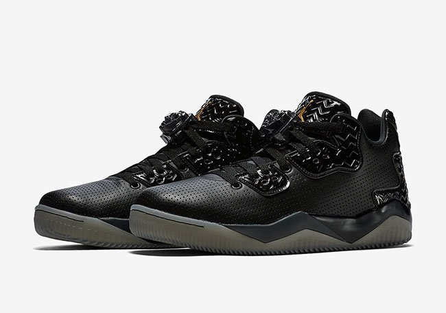 Jordan Spike 40 Low Triple Black