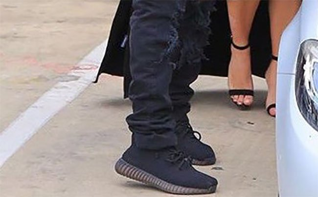 bee4841241f Kanye West Black adidas Yeezy Boost
