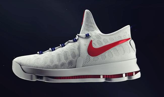 Kevin Durant Nike KD 9 USA Olympics
