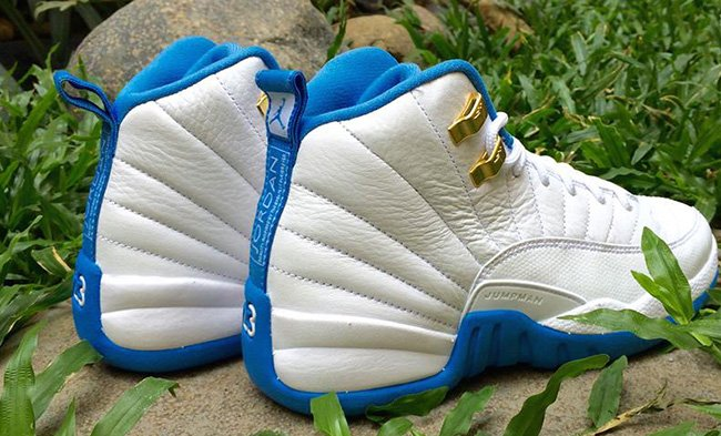 Melo Air Jordan 12 GS University Blue