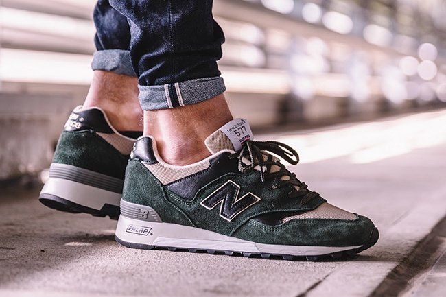 New Balance 577 Green Black  afc0c99c05be