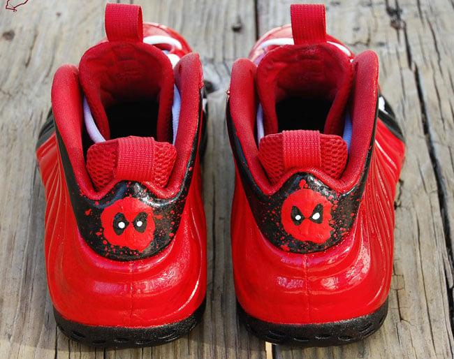 Nike Air Foamposite One 'Deadpool' Custom