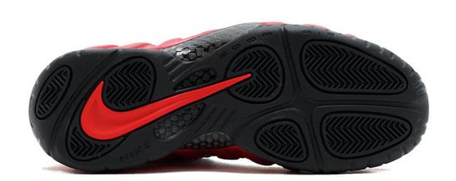 Nike Air Foamposite Pro 2016 University Red Black