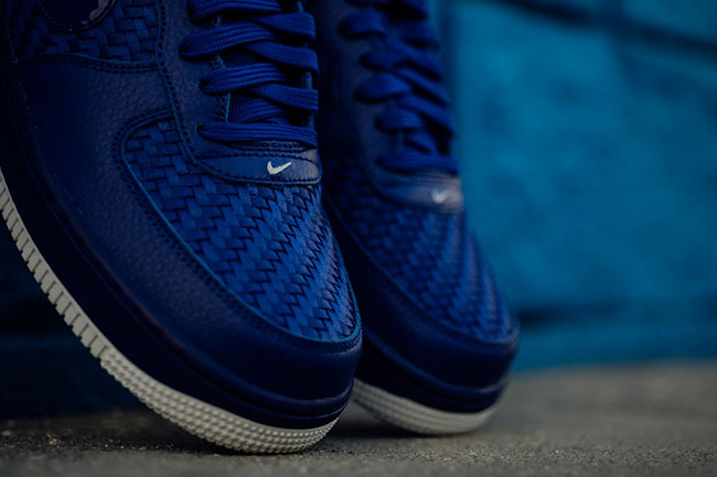 Nike Air Force 1 07 LV8 Woven Concord | SneakerFiles