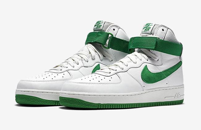 Nike Air Force 1 High Shamrock Swoosh