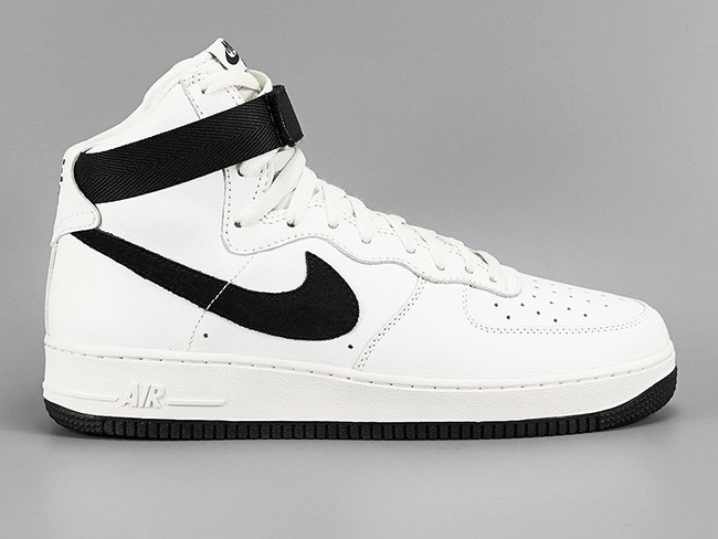best service a4c43 65116 Nike Air Force 1 High White Black | SneakerFiles