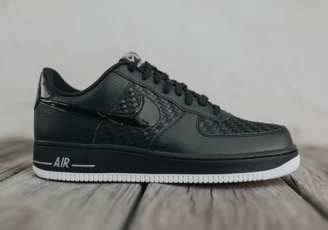 Nike Air Force 1 Low 07 LV8 Woven Black