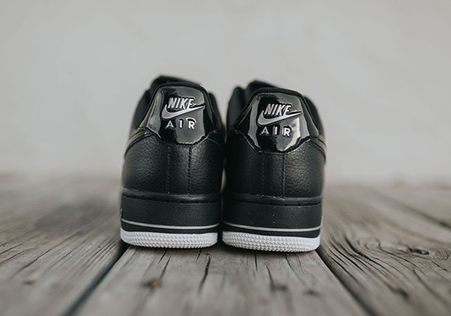 Nike Air Force 1 Low 07 LV8 Woven Black | SneakerFiles