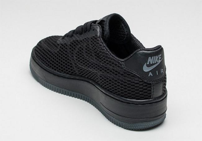 Nike Air Force 1 Low Upstep BR Black