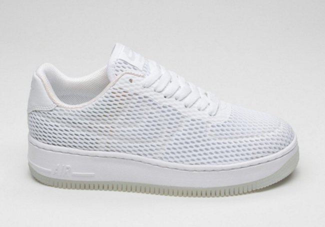 super popular 70932 76ec0 Nike Air Force 1 Low Upstep BR White Black | SneakerFiles