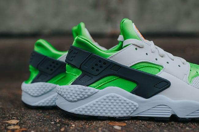 b0897a25c3b5 Nike Air Huarache Action Green
