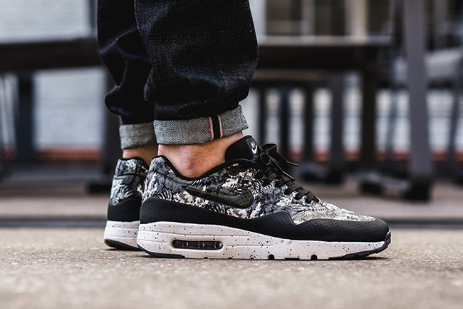 finest selection be7c5 f9926 Colorway  Dark Grey Black-Cool Grey-Wolf Grey Product Number  705297-012 ·  best Nike Air Max 1 Ultra Moire Black White Monochrome Floral