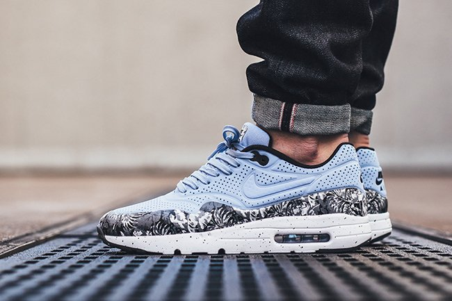 timeless design 6d0fa dd1f7 hot sale 2017 Nike Air Max 1 Ultra Moire Monochrome Floral