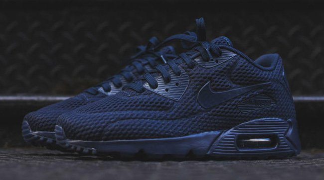 separation shoes 21e6f bcd43 Nike Air Max 90 Ultra Br Triple Black airborne.nu