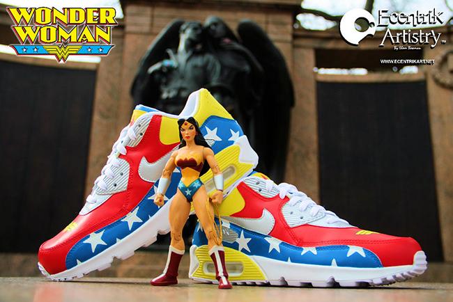 the latest 0f7f8 dbb57 Nike Air Max 90 Wonder Woman