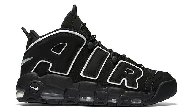 Nike Air More Uptempo Black White OG