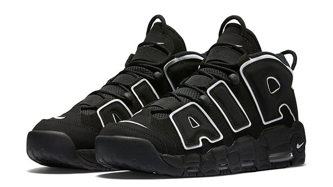 Online Nike Air More Uptempo OG BlackWhite