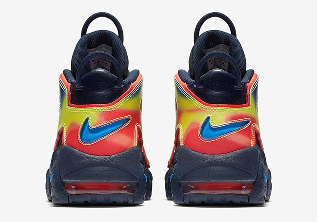 Nike Air More Uptempo Heat Map
