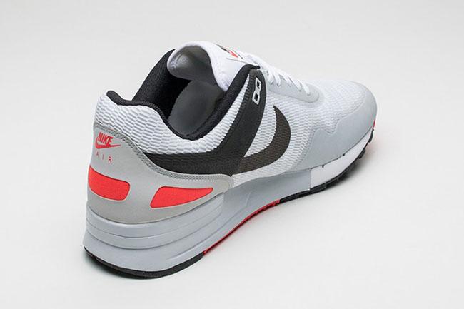 Nike Air Pegasus 89 NS Bright Crimson White Black Grey