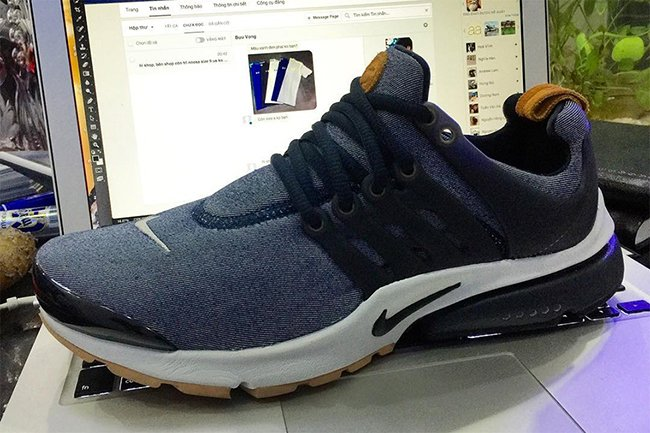 nike air presto premium denim