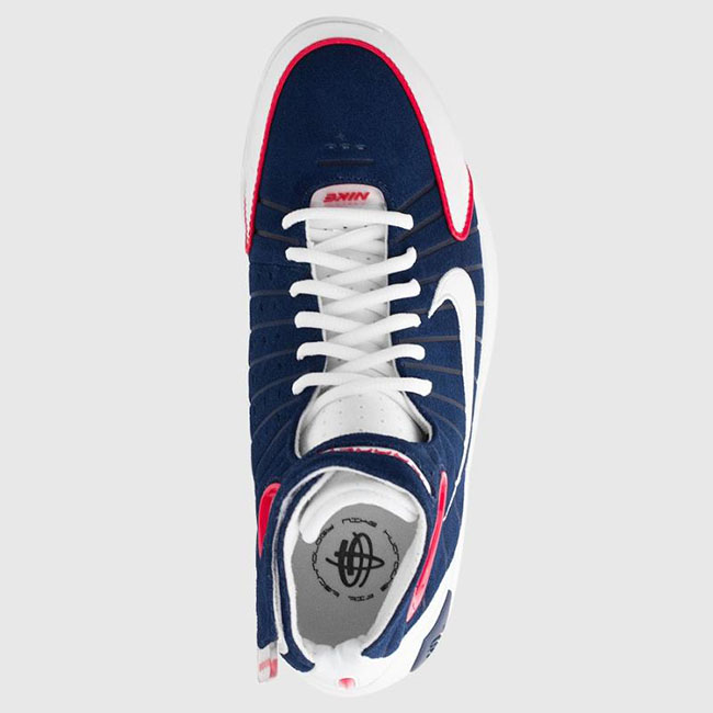 7c156fa7e40f2 nike air zoom huarache 2k4 uconn midnight navy university red review ...