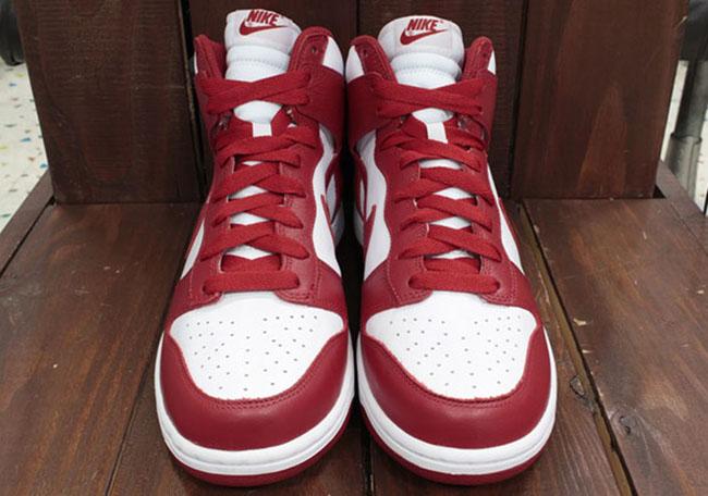 quality design e2754 ddaea Nike Dunk Be True School White Red