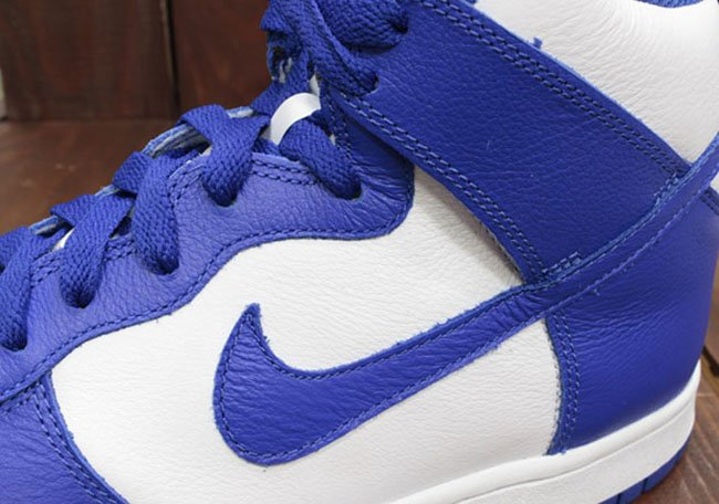 Nike Dunk Be True School White Royal