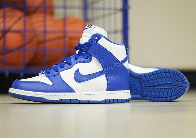 Nike Dunk High BTTYS Kentucky Blue 2016