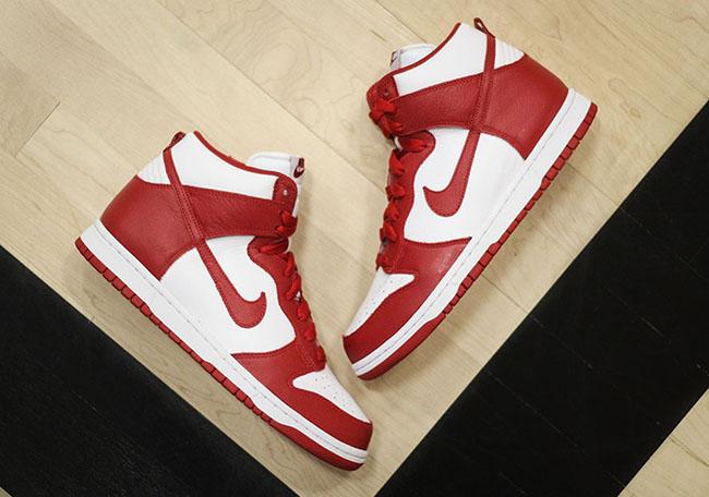 Nike Dunk High BTTYS St Johns Red 2016