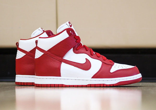 check out 44014 f1a95 Nike Dunk High BTTYS St Johns Red 2016